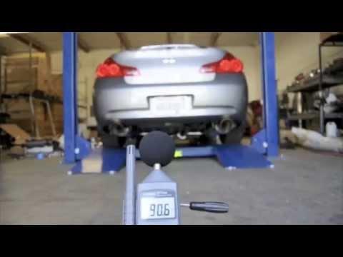 ark performance inc g37 sedan grip true dual exhaust system