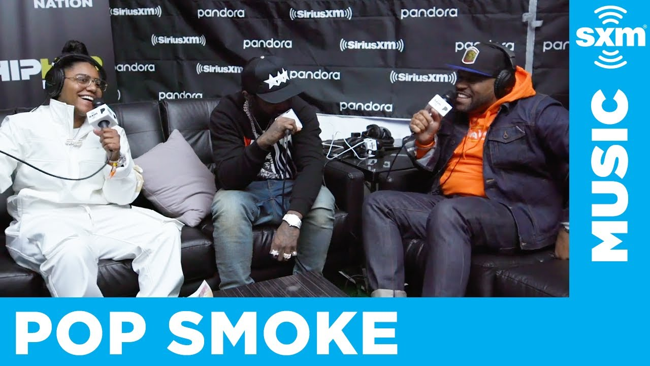 Pop Smoke with Swaggy Sie and Torae at Rolling Loud LA 2019