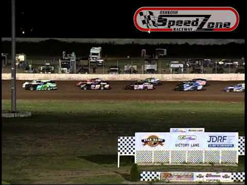 Oshkosh Speedzone Raceway - August 30, 2013 - Modified Feature