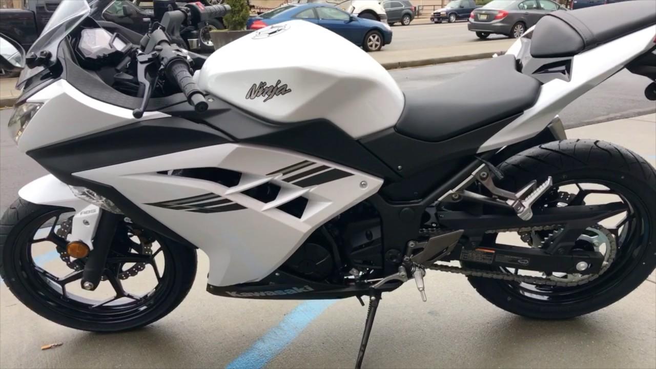 Kawasaki Ninja R White