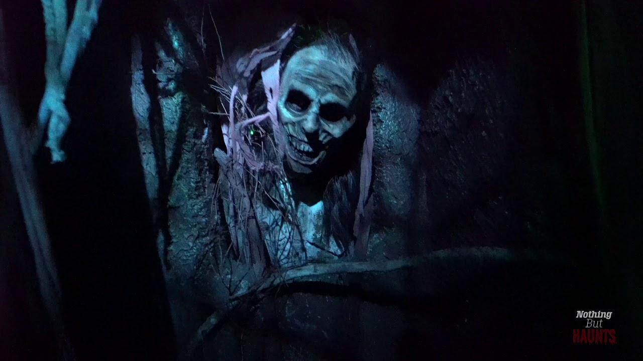 4k Graveyard Games Halloween Horror Nights 2019 Haunted House Walkthrough Youtube