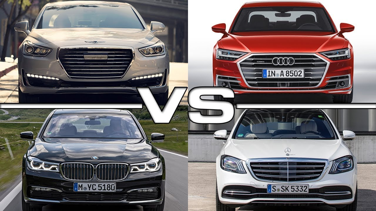 Genesis G90 Vs Audi A8 Bmw 7 Series Mercedes S Cl