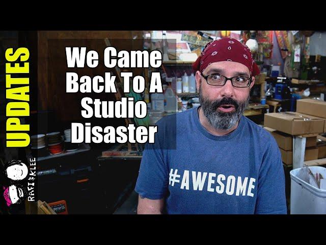 Art Studio Disaster And Updates On Craziness