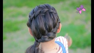 Braided Hairstyle - Waterfall Braid | Chikas Chic
