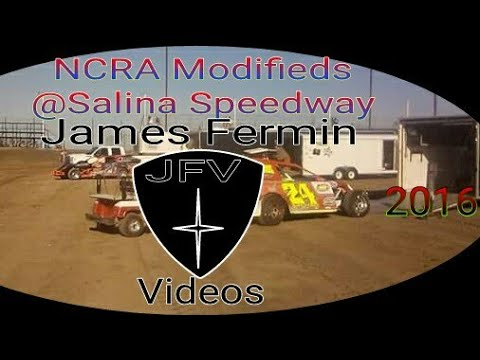 NCRA Modified Four Wide Salute #9, Salina Speedway