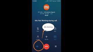 Microphone Not Working on Call, But Working on Speaker in Redmi 4, 4A,Y1,note or any android phone
