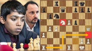 Sky's the Limit || Praggnanandhaa vs Topalov || Gibraltar Masters (2020)