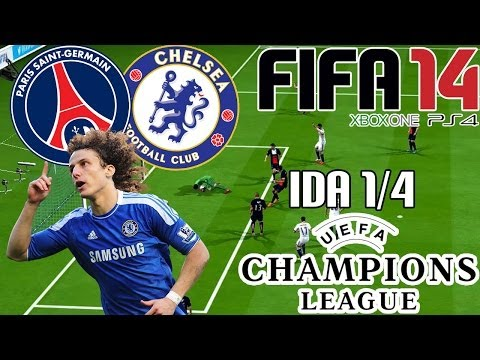 FIFA 14 || UEFA Champions League || Paris Saint Germain vs Chelsea (1/4; Ida)