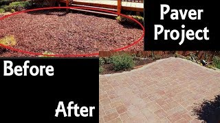Building a Paver Patio In My Backyard