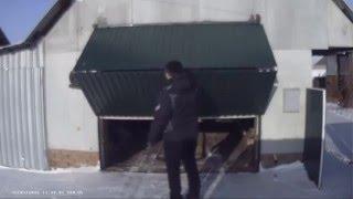 подъёмно-складные ворота для гаража-2/своими руками