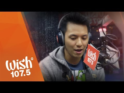"TJ Monterde performs ""Ikaw at Ako"" LIVE on Wish 107.5 Bus"