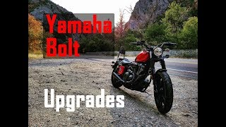YAMAHA BOLT Mods & Upgrades
