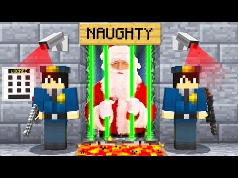 BREAKING SANTA OUT OF THE WORLD'S MOST SECURE MINECRAFT PRISON!
