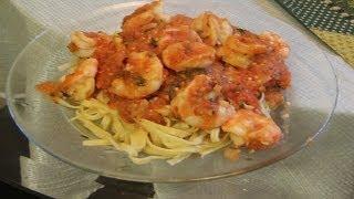 Italian Shrimp  Diablo On Linguini Recipe