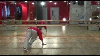 Брейк данс обучение. Урок 02. Breakdance footwork tutorial. Lesson 02