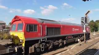 DB schenker 59204 with whatley to Dagenham loaded stone train