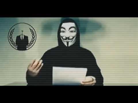 Anonymous appel à la révolution
