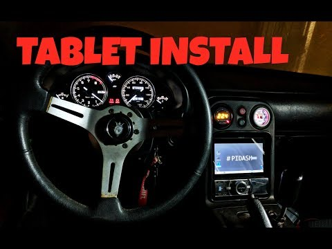 Fitting Gauges & A PiDash Tablet Into The Miata (Rebirth Ep37)