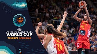 Japan v Spain - Highlights - FIBA Women's Basketball World Cup 2018