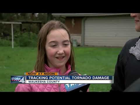 Tracking Potential Tornado Damage In Waukesha County