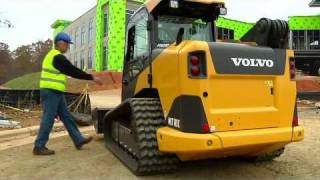 Volvo Wheeled and Tracked C-Series Skid Steers Presentation video