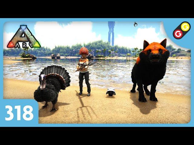 ARK : Survival Evolved - Update 318 Turkey Trial 4 ! [FR]