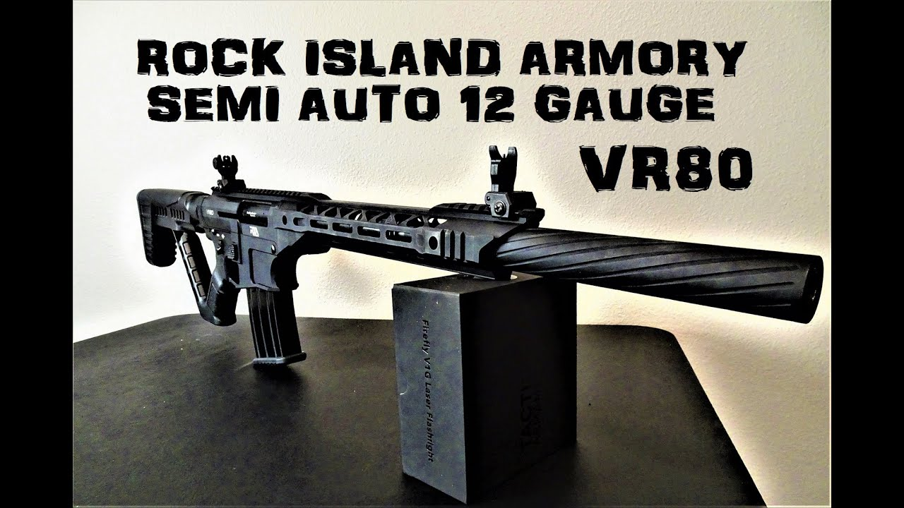 Rock Island Armory VR80 | Unboxing