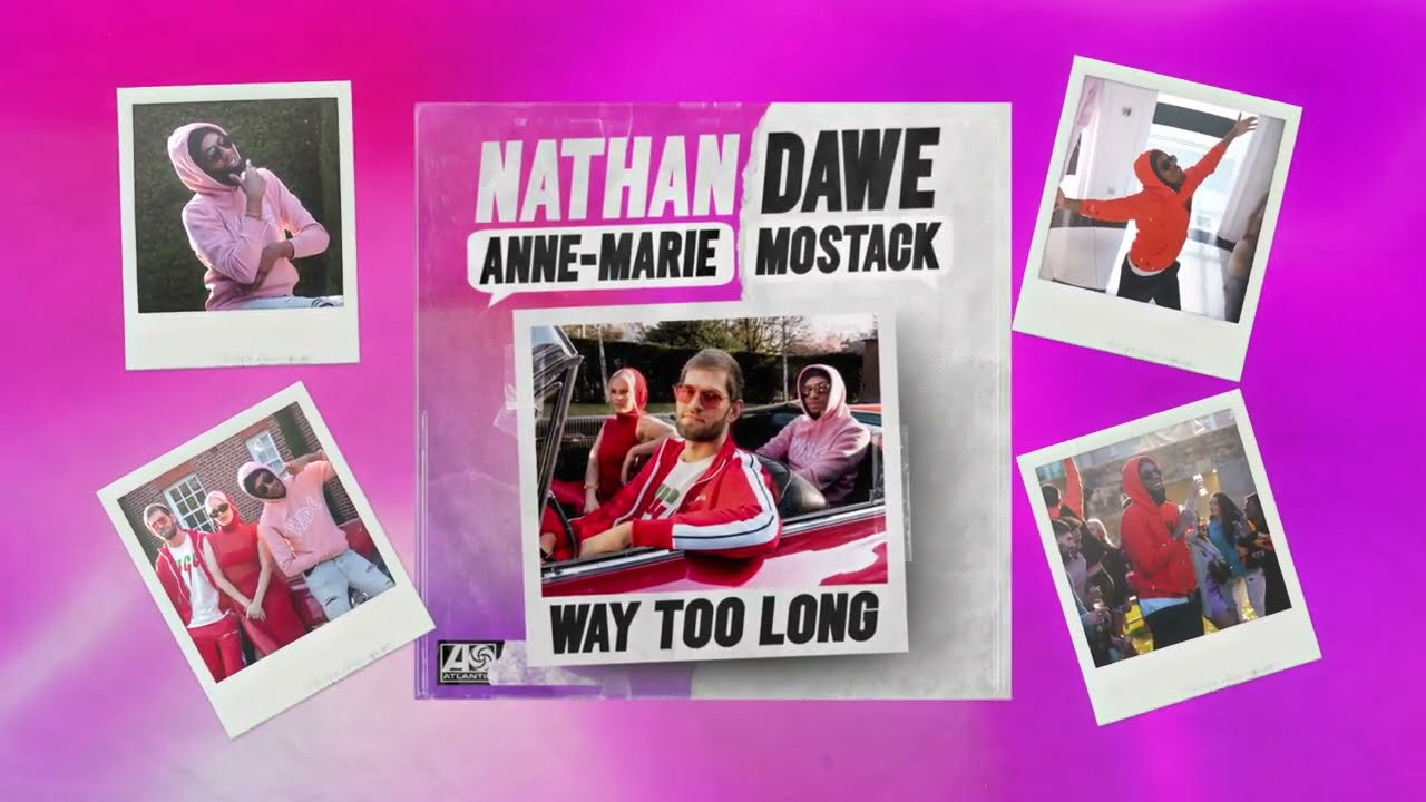 Download Nathan Dawe x Anne-Marie x MoStack - Way Too Long (Visualiser)