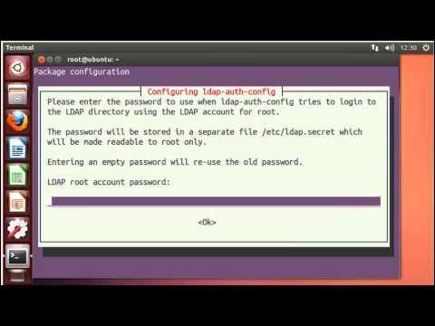 Ubuntu Authenticating Linux Client to openLDAP