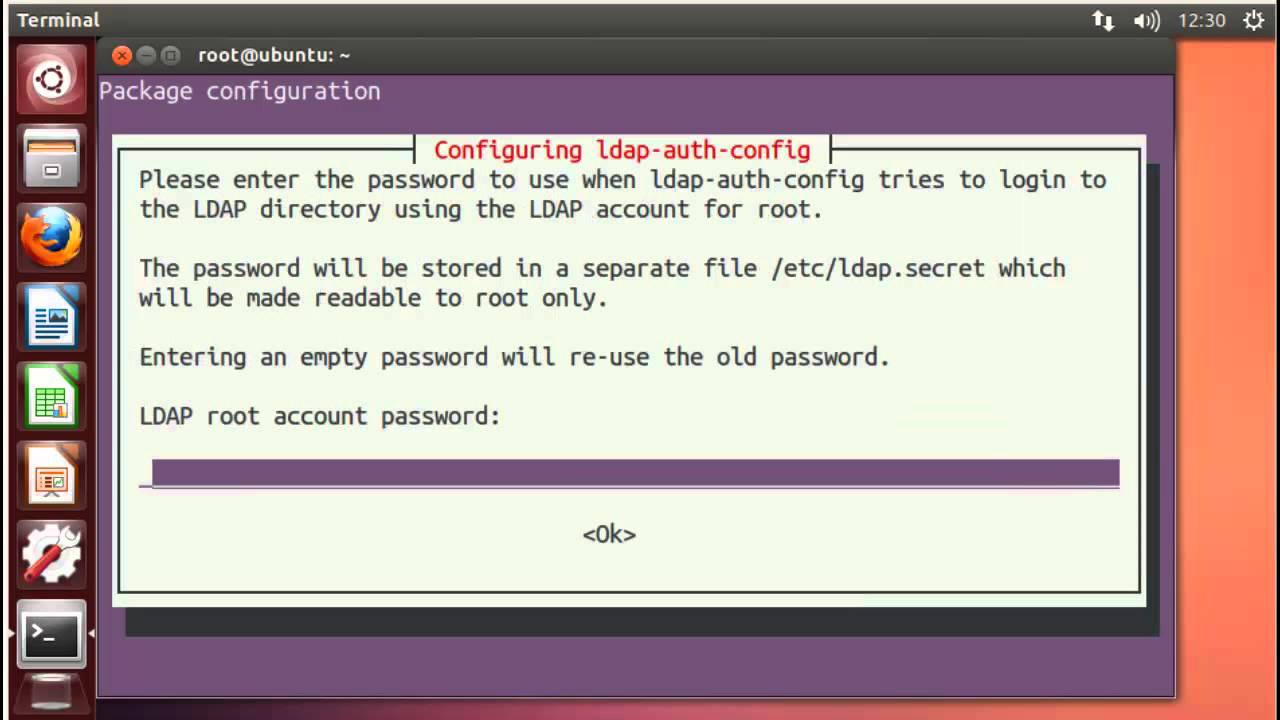 Ubuntu Authenticating Linux Client to openLDAP