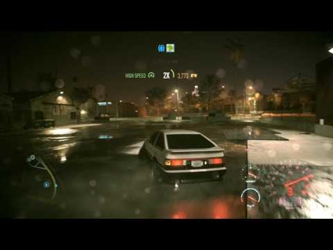 Need for Speed 2015 - AE86 Super Tofu Delivery (ft Tossed Lettuce)