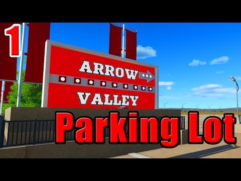 Arrow Valley | Planet Coaster Park | Part 1 | Parking Lot