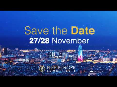 Fleet Europe Summit 2018: the not-to-be-missed event for all decision makers
