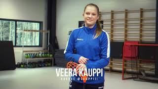 Maailman paras salibandypelaaja Veera Kauppi ja XZ Challenge!
