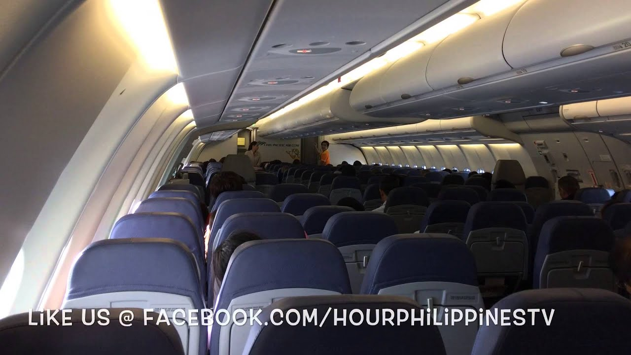 New Cebu Pacific Airbus A330 300 Cabin By Hourphilippines