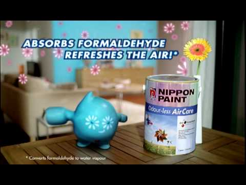 Nippon Paint Blobby - Odour-less AirCare