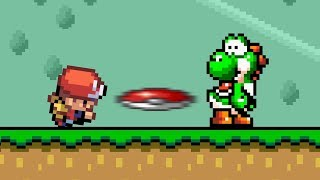 If Pokemon and Super Mario World switched places