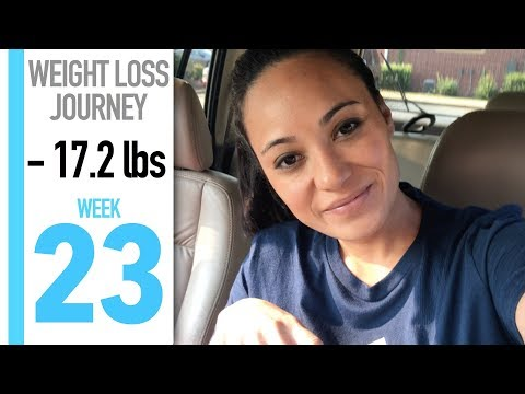 My Weight Loss Journey: WEEK 23 | OUT OF MY COMFORT ZONE