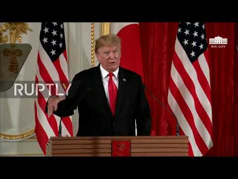 Japan: China 'want to make a deal' on trade but US 'not ready' says Trump