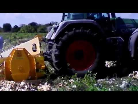STONE CRUSHER FAN 2000 VALENTINI IN YUCATAN MEXICO