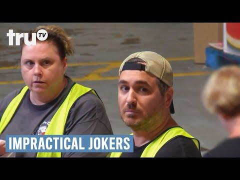 Impractical Jokers - Q Volunteers to Eat the Donations | truTV