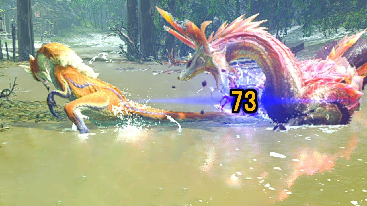 【MHRise】一度も攻撃せず操竜だけでタマミツネを倒す