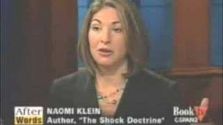 Naomi Klein on C-Span: Triple Privatization in the Iraq War