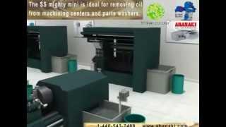Скиммер для очистки СОЖ Skimmer Abanaki Mighty Mini(Скиммер нефтесборщик Abanaki Mighty Mini - идеальное решение для удаления нежелательных масел в охлаждающей жидкос..., 2013-06-13T10:54:28.000Z)