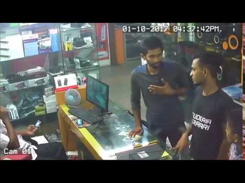 Thief Caught on Camera Stealing in Shop   Thief Caught on CCTV Camera  Bangladesh 2017