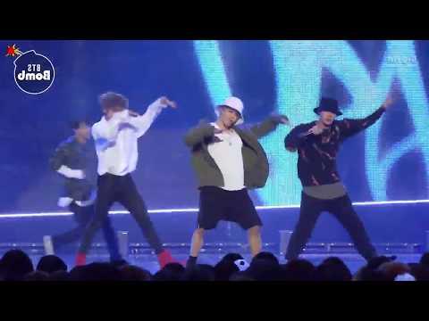 [Mirrored + Slowed 75%] BTS - Mic Drop live