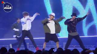 [Mirrored + Slowed 75%] BTS - Mic Drop live