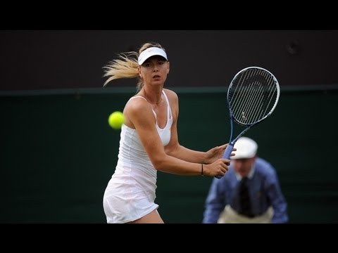 Maria Sharapova on first round win at Wimbledon 2013