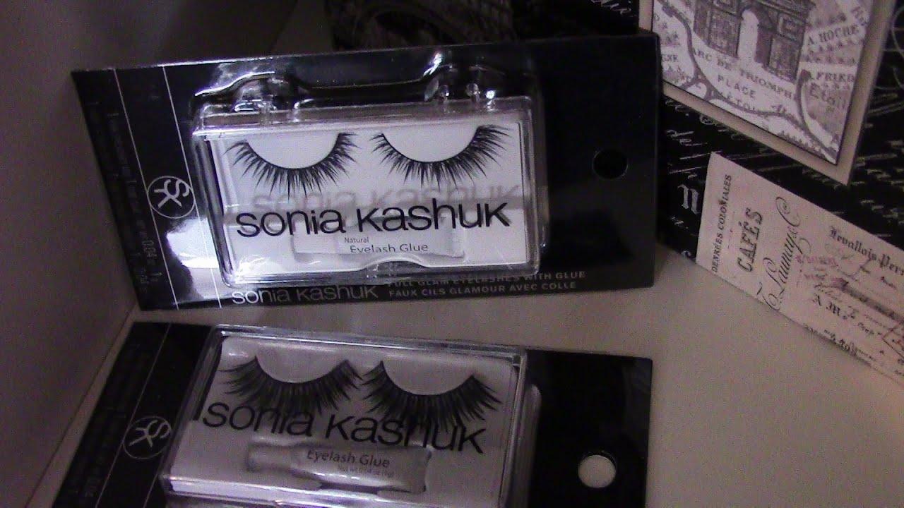 Sonia Kashuk Eyelashes How I Apply Them Youtube