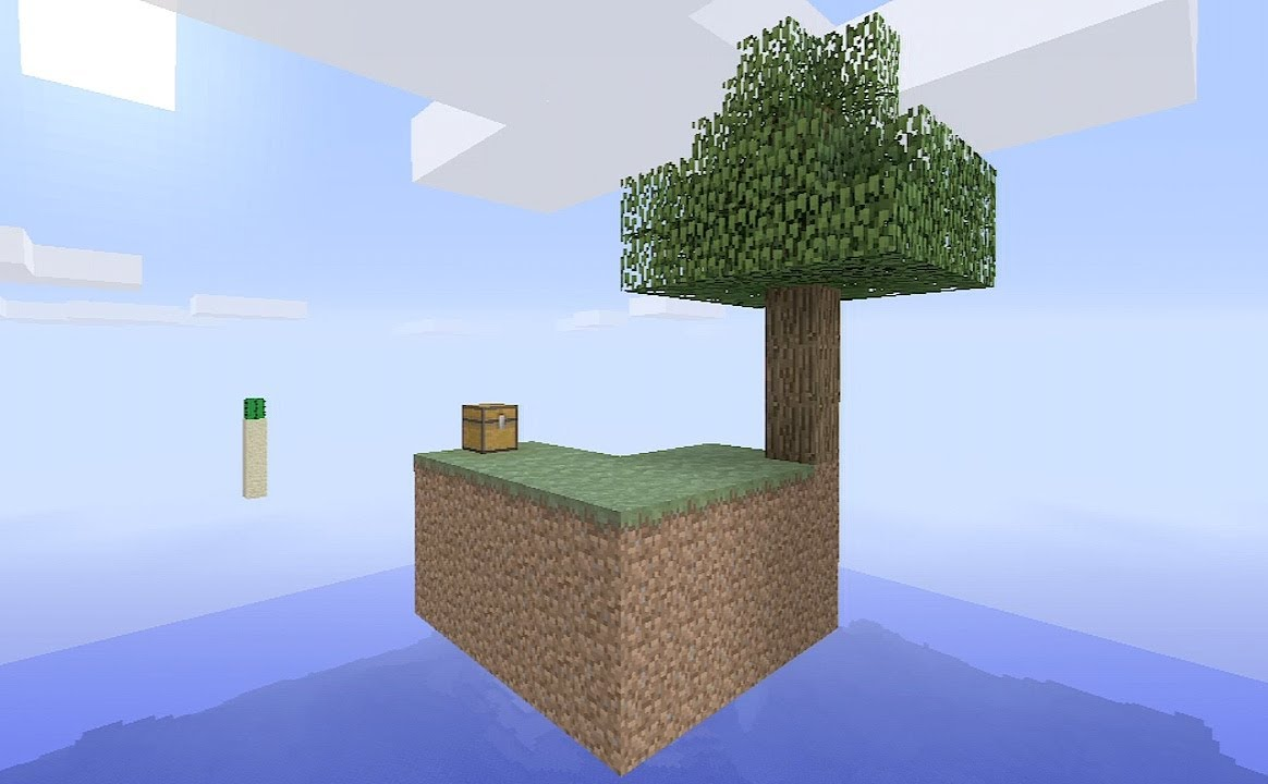 How to build skyblock - Minecraft - survival challenge map tutorial | HD
